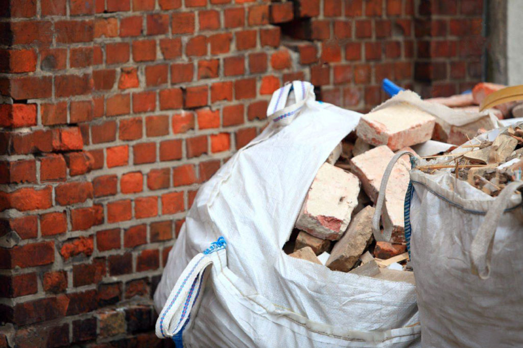 Evacuation de déchets de construction sur Paris